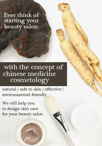 Want to start your beauty salon with our natural Chinese herbs products, let's us help you to grow your business.